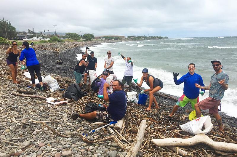 Skyline Eco-Adventures beach cleanups