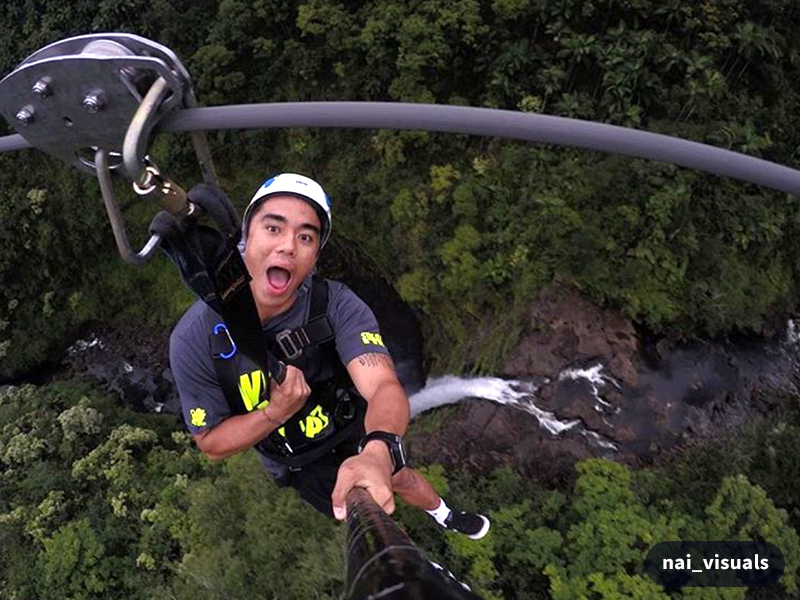 rent a gopro camera to use while ziplining