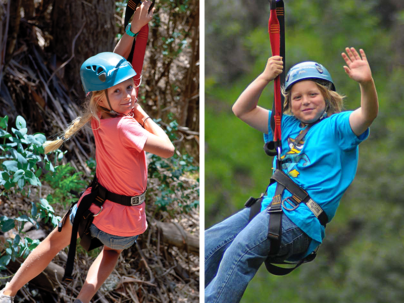 Check if your child meets the weight requirements before booking a zipline tour