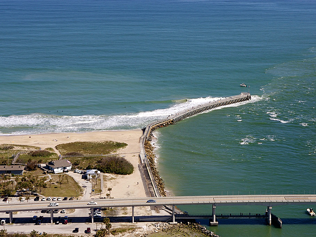America 39 s ultimate surf park sebastian inlet spot check for Long beach fishing spots