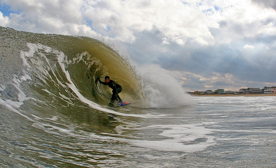 Surf News Meanwhile Three Hours North In Virginia Beach Adrian Colaprete Is Stoked He