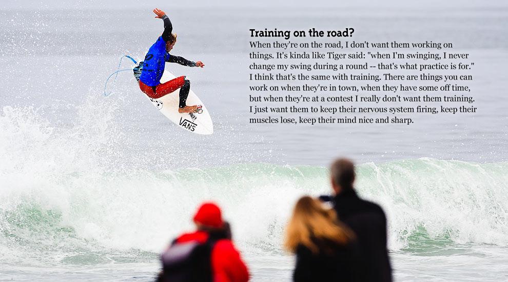 biomechanics of surfing
