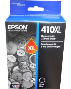 EPSON T410XL020 (410XL) Black High Capacity Ink Cartridge