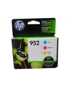 HP N9K27AN (952) Cyan Magenta and Yellow Ink Combo Pack