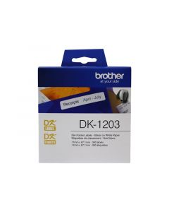 BROTHER DK-1203 Labels 3 7/16 in. x 2/3 in. 300 pcs