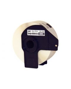 BROTHER DK-1208 Labels White 1/2 in. x 1 1/2 in. 400 pcs.