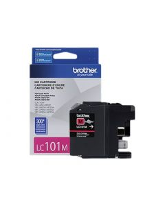 BROTHER LC101M Magenta Ink Cartridge