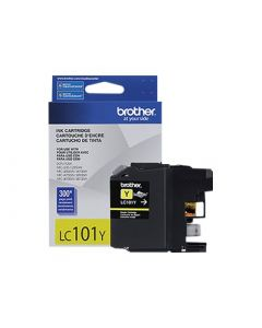 BROTHER LC101Y Yellow Ink Cartridge