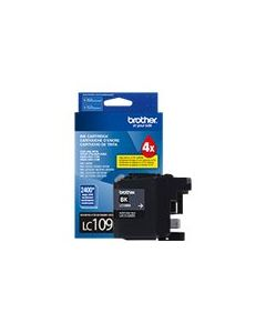 BROTHER LC-109BK Super High Yield Black Ink Cartridge
