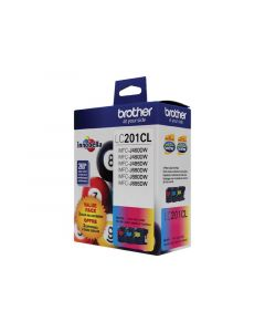 BROTHER LC201CL Tri-Color Ink Cartridge