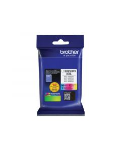 BROTHER LC-30293PK Tri-Color Ink Cartridge