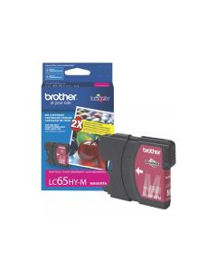 BROTHER LC-65HY-M Magenta High Yield Ink 750p
