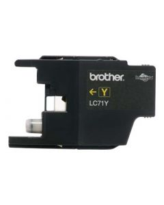 BROTHER LC-71Y Yellow Ink 300p