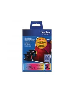 BROTHER LC79CLXXL (LC793PKS) Tri-Color Ink Cartridges