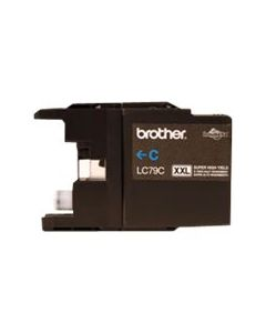 BROTHER LC-79C XXL Cyan Super High Yield Ink 1.2k