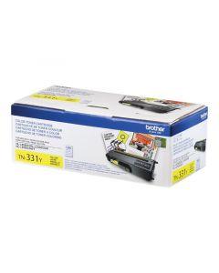 BROTHER TN-331Y Yellow Toner Cartridge 1.5k