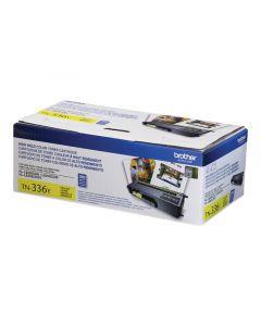 BROTHER TN-336Y Yellow High Yield Toner Cartridge