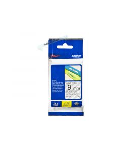 BROTHER TZe-121 Black on Clear Label Tape 3/8 in. x 26.2 ft.