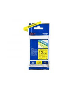 BROTHER TZe-631 Black on Yellow Label Tape 1/2 in. x 26.2 ft.