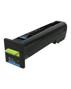 LEXMARK 72K1XC0 Cyan Toner Cartridge