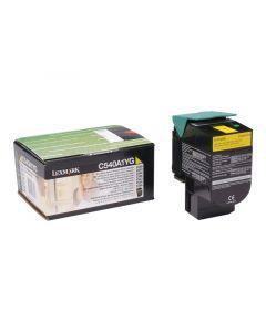 LEXMARK C540A1YG Yellow Toner 1k