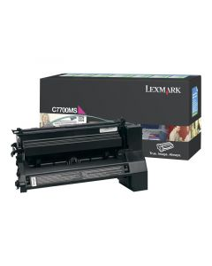 LEXMARK C7700MS Magenta Toner 6k