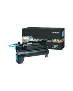 LEXMARK C792X2CG Cyan Extra High Yield Toner 20k
