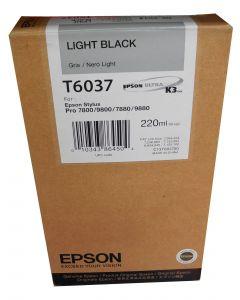 EPSON T603700 Light Black High Yield Ink 220ml
