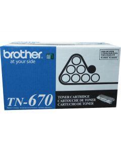 BROTHER TN-670 Black High Yield Toner 7.5k
