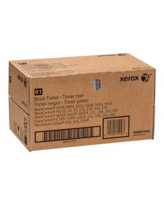 XEROX 006R01046 (6R1046) Black Toner (2 per box with waste container)