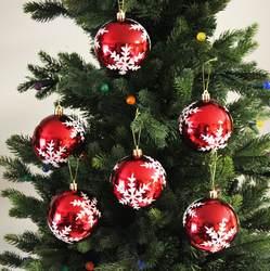 Sleetly™ Snowflake Christmas Ball Ornaments
