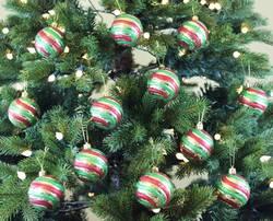 Sleetly™ Vintage Christmas Ball Ornaments