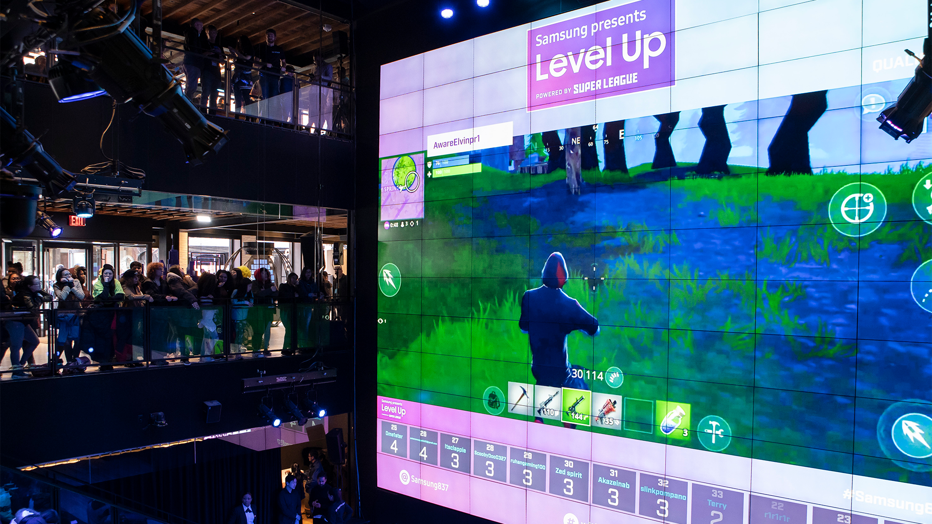 Samsung presents Level Up with Ninja and iKON - Super League Gaming