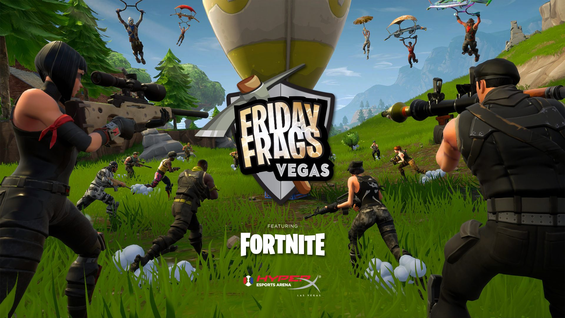 Friday Frags 55 - 9/27 $2,000 GTD at HyperX Esports Arena