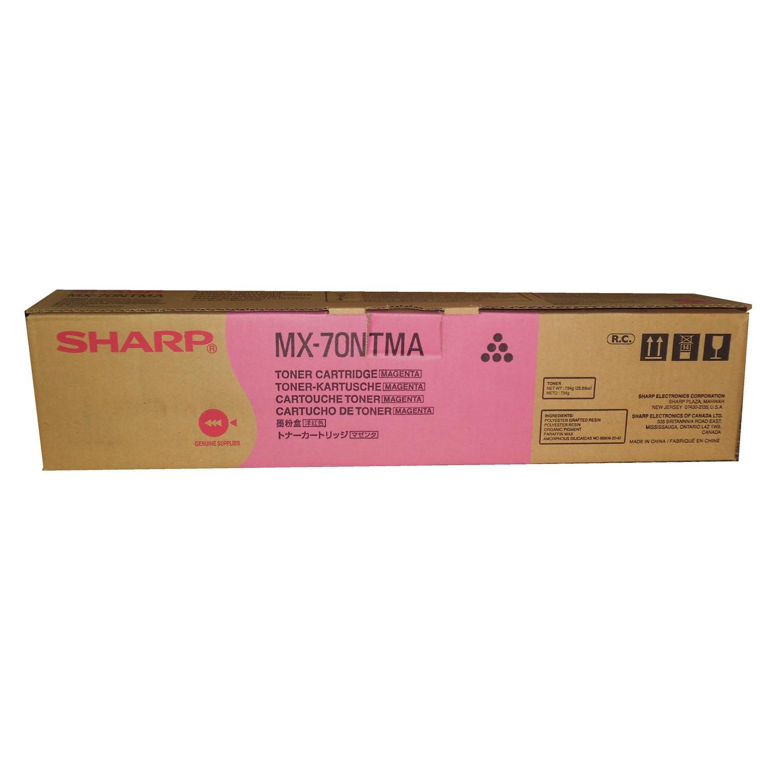 NEW OEM SHARP MAGENTA TONER MX-70NTMA Sharp MX-5500N Sharp MX-6200N