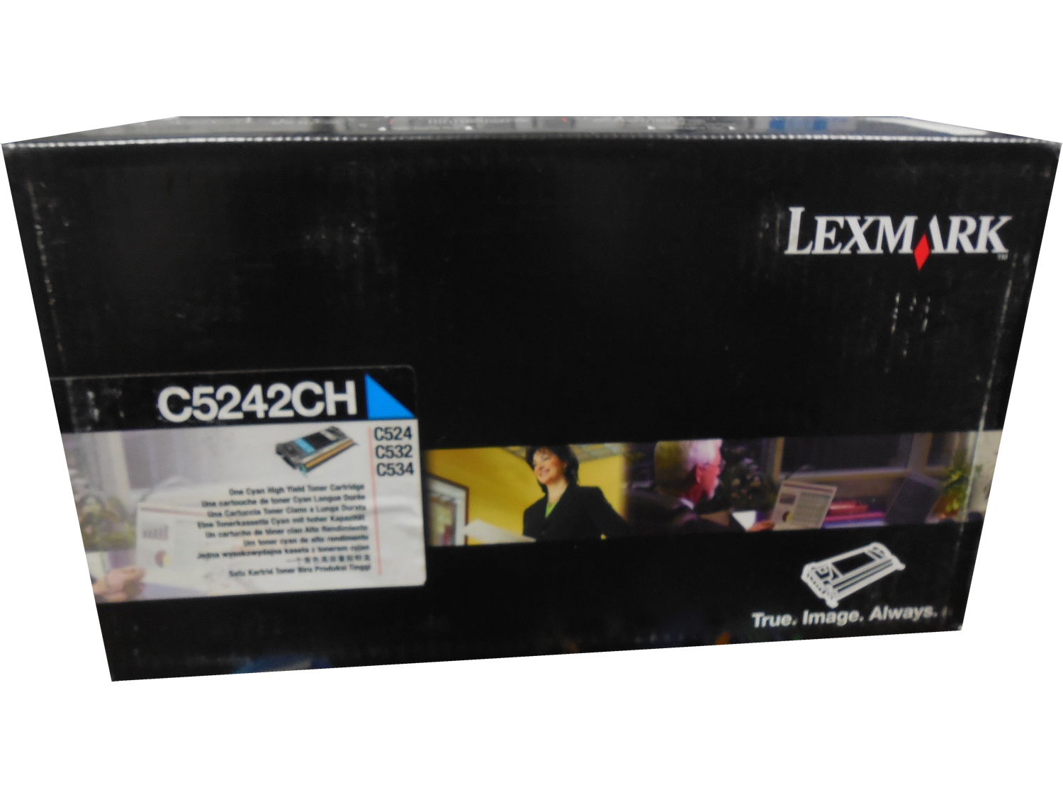 Lexmark C930H2CG Cyan High Yield Toner Cartridge 24k C935 Series Genuine OEM