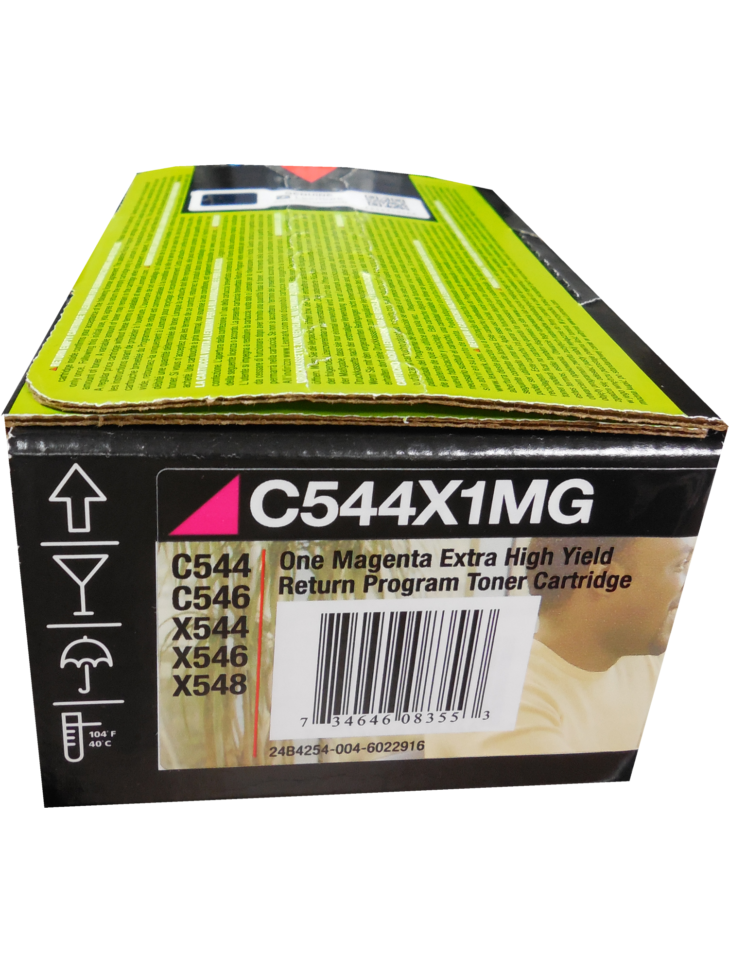 Lexmark Compatible C544 Magenta Extra High Yield 4K Toner C544X1MG-C