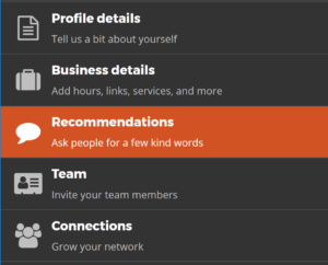 embeddable recommendations widget