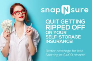 SnapNsure Storage Unit Insurance