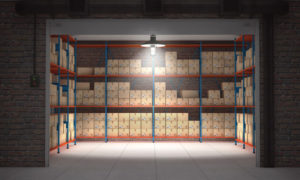 using self storage for business