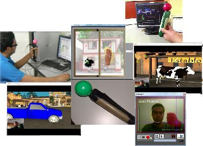 Sistema de rehabilitación virtual que ayuda a recuperar el movimiento de las extremidades superiores a personas que sufren afectación del movimiento de...
