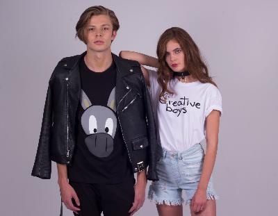 Creative Boys es una marca de ropa inspirada en dibujos de niños, y por cada playera que vendemos, donamos una sudadera a un niño de escasos recursos.