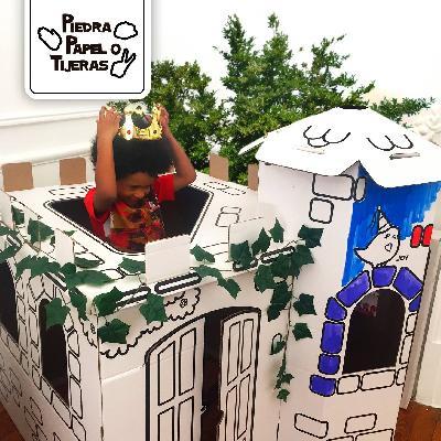 Desarrollamos una línea de cuentos de aventuras, acompañados de sus escenarios armables de cartón de 1.5m de alto, con un kit de pinturas para que los...