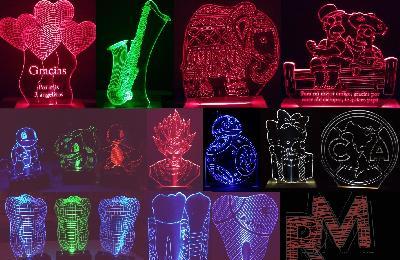 En Rm store creamos productos decorstivos originales y funcionales. Tenemos lámparas led personalizadas, a base de acrílico y mdf, realizamos todo desde...