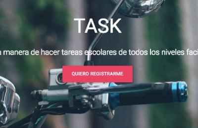 Task Es la conexión entre estudiantes con tareas escolares y gente con ganas de hacer esas tareas escolares y recibir una compensación económica por...