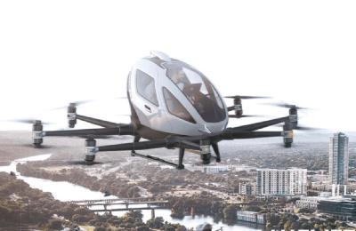 Paseos escénicos en el corazón de la zona hotelera de Cancún con drones para pasajeros.