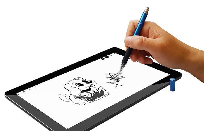 Plumas premium para tablets y smartphones de puntas intercambiables y de diferentes estilos que ofrecen distintas sensaciones: una punta fina y otra...
