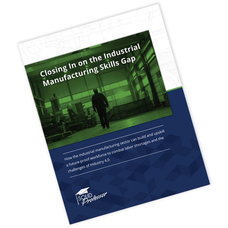 Industrial Manufacturing White Paper Cover