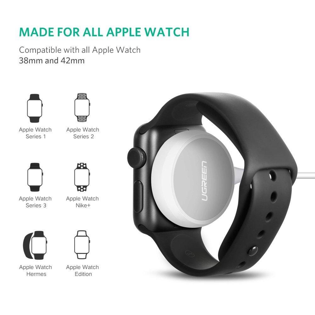 5bc760b8fce Cargador Apple Watch MFi Certificado para 38/42mm Series 1/2/3 FAST. ‹ ›