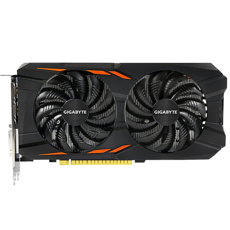Tarjeta de Video GTX 1050 Ti 4GB Windforce Gigabyte